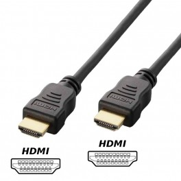 1,5M KABEL HDMI - HDMI GOLD HD 4K HIGH SPEED 1,4B